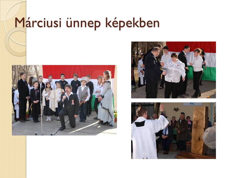 Márciusi ünnep képekben