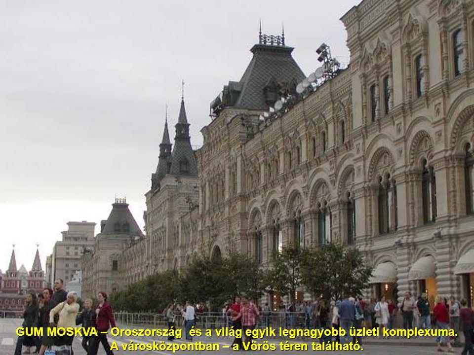 A városközpontban – a Vörös téren található.