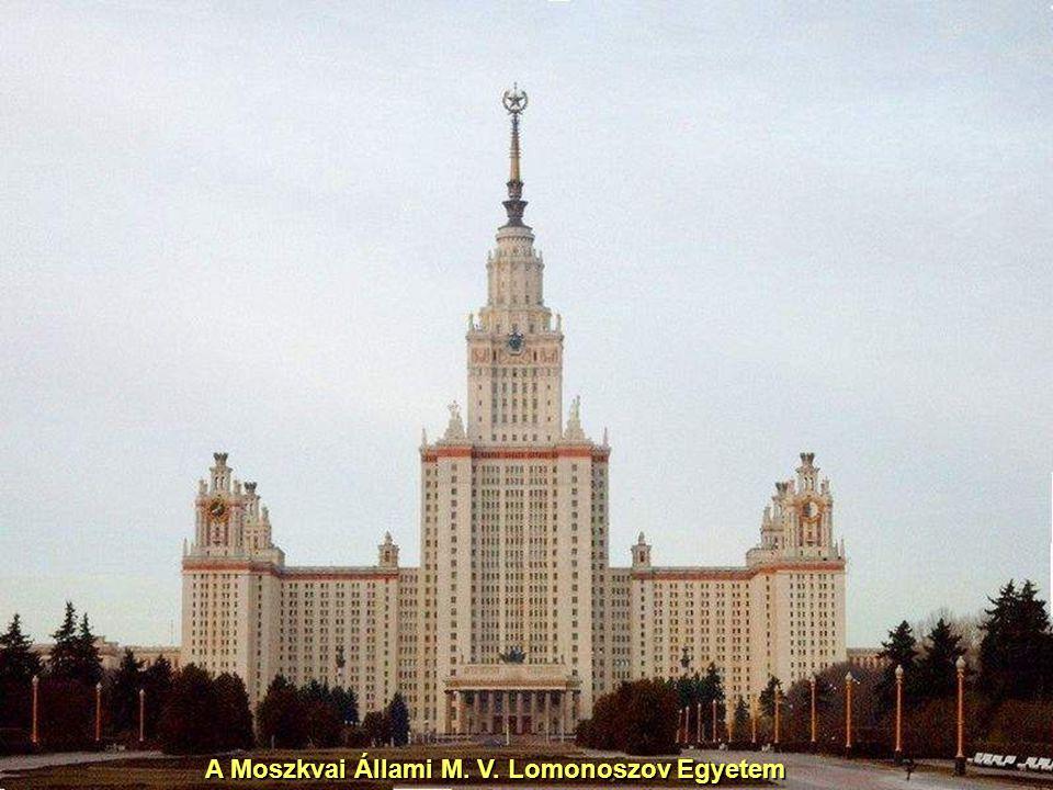 A Moszkvai Állami M. V. Lomonoszov Egyetem