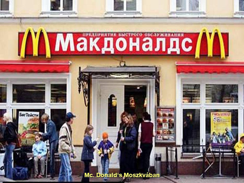 Mc. Donald's Moszkvában