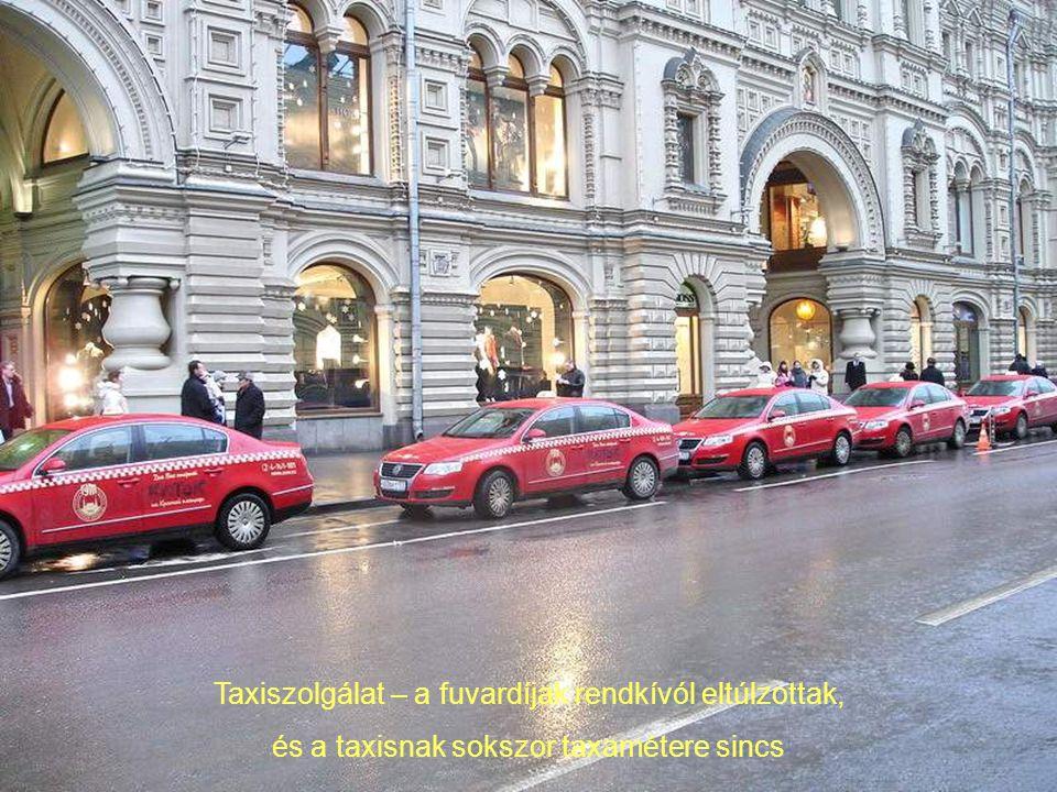Taxiszolgálat – a fuvardíjak rendkívól eltúlzottak,