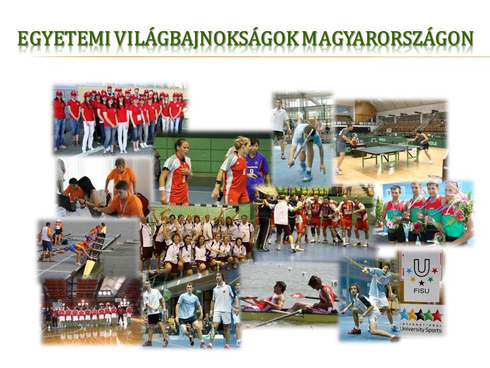 Egyetemi Világbajnokságok Magyarországon