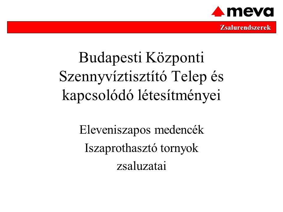 Budapesti Központi Szennyvíztisztító Telep és kapcsolódó létesítményei