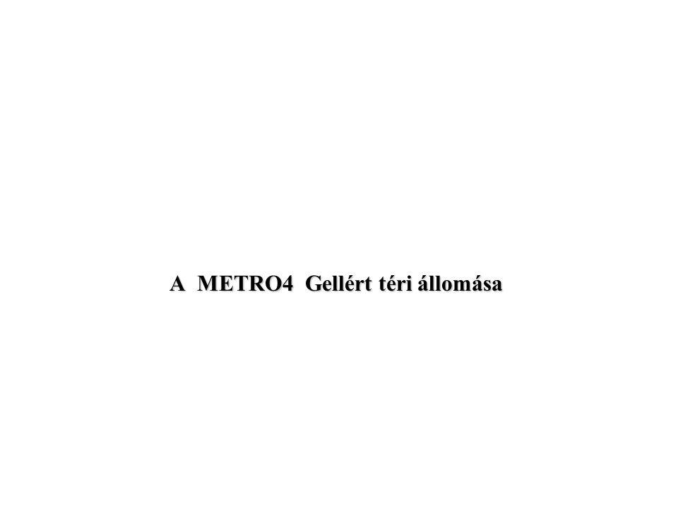 A METRO4 Gellért téri állomása