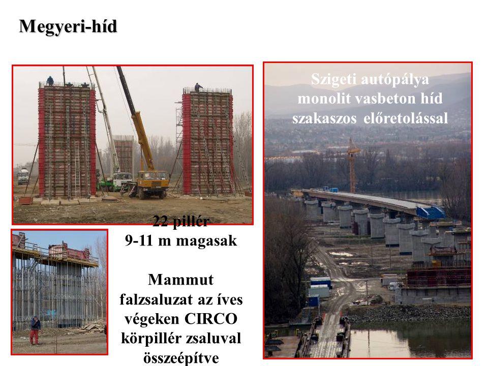 monolit vasbeton híd szakaszos előretolással