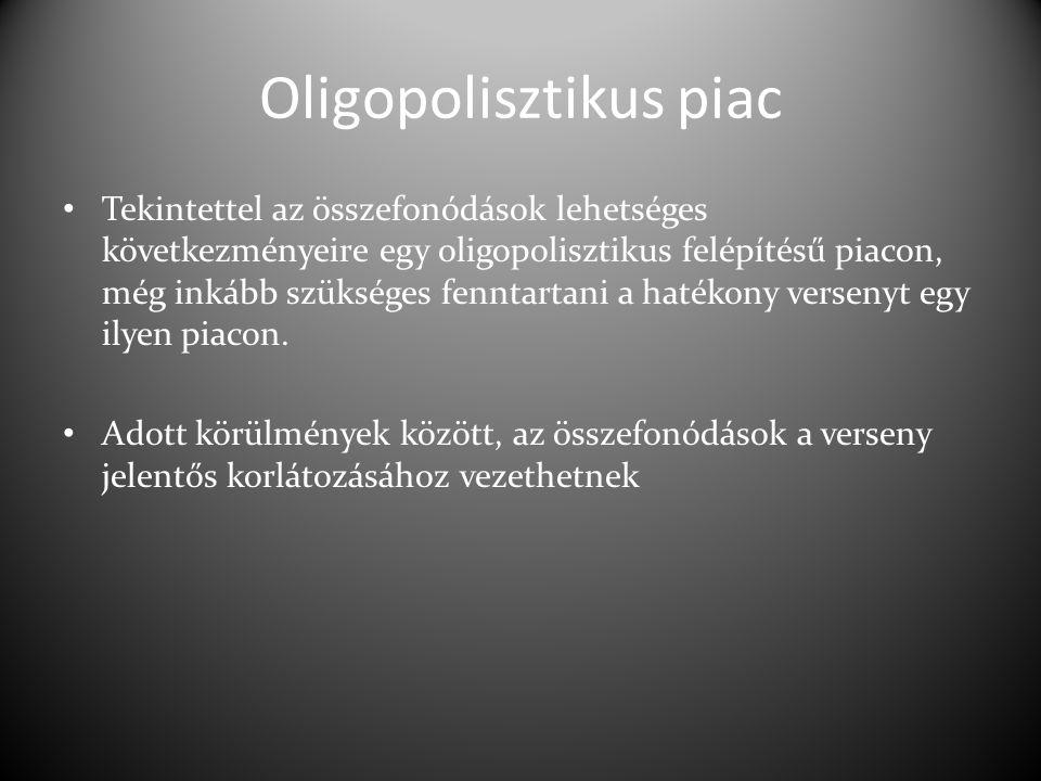 Oligopolisztikus piac
