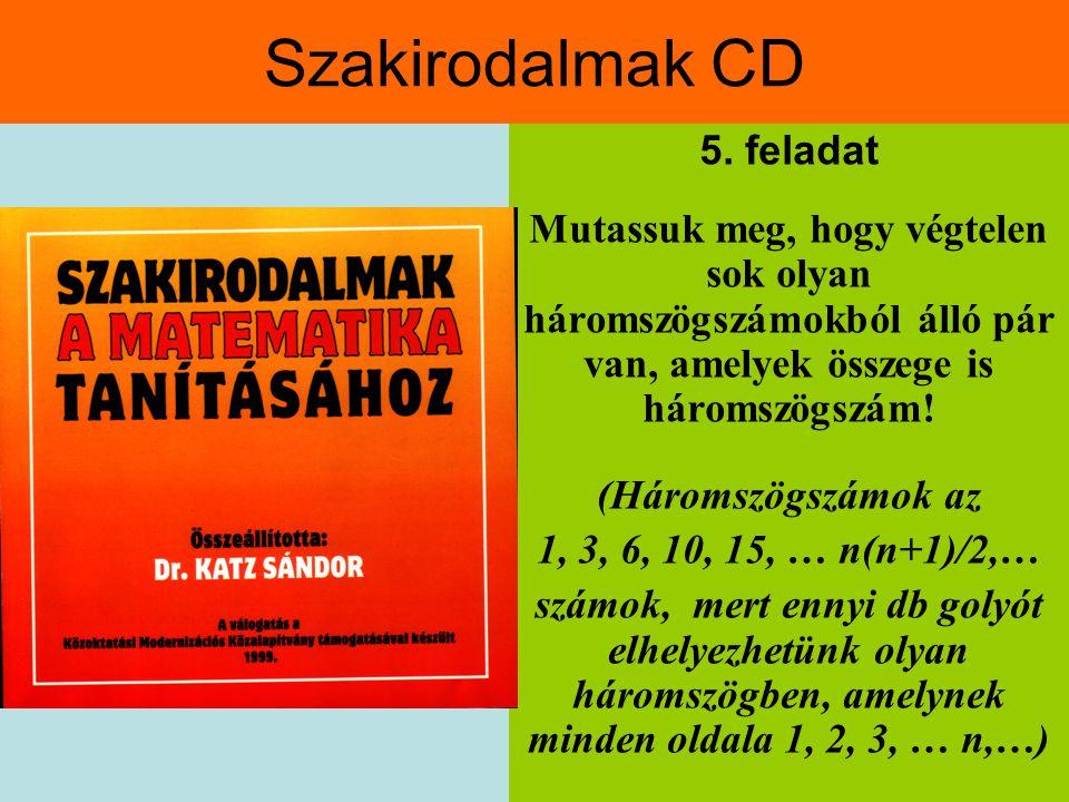 Szakirodalmak CD 5. feladat