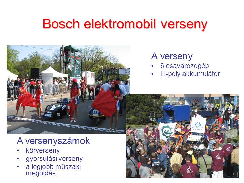 Bosch elektromobil verseny