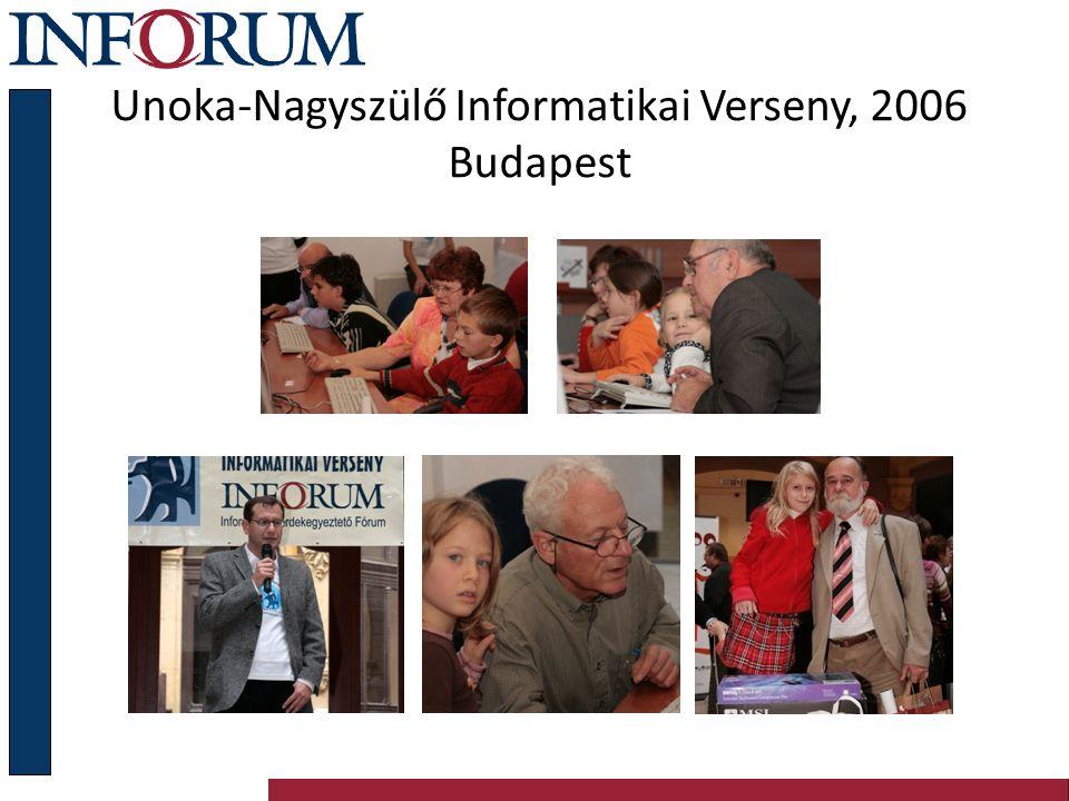 Unoka-Nagyszülő Informatikai Verseny, 2006 Budapest