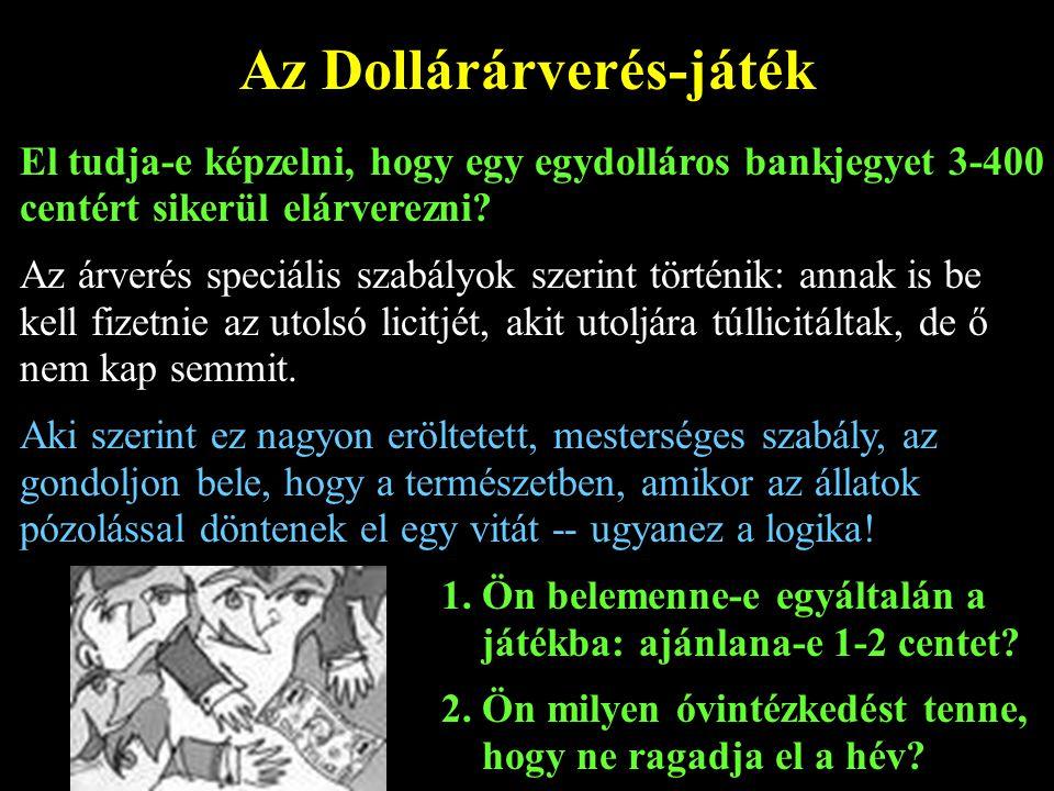 Az Dollárárverés-játék