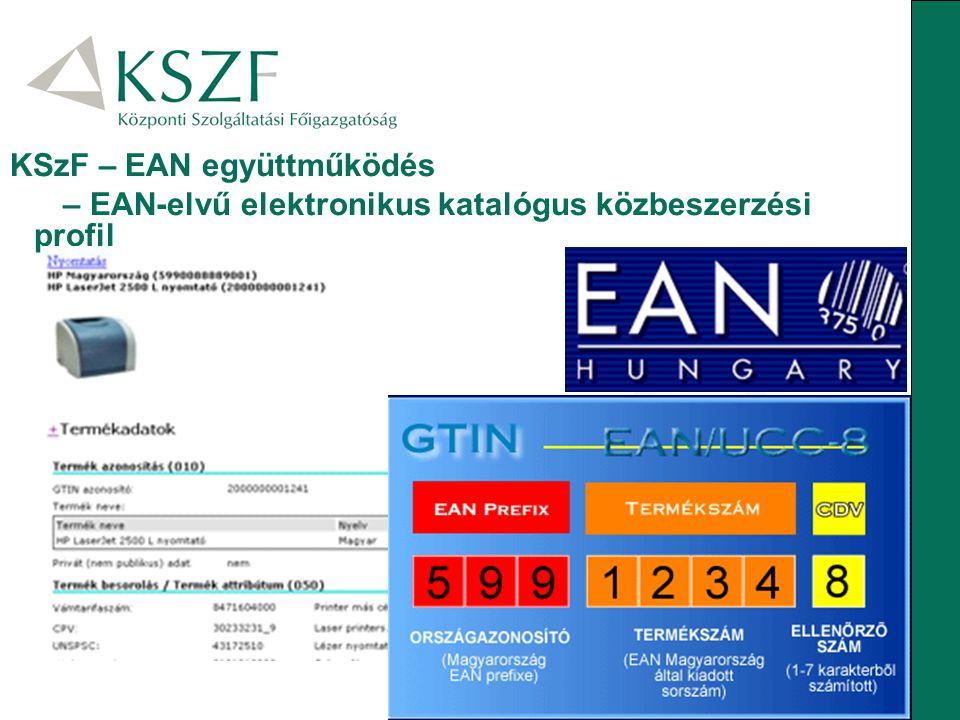 KSzF – EAN együttműködés