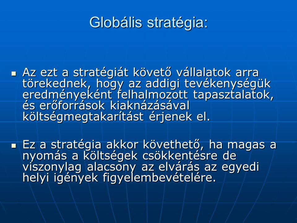 Globális stratégia: