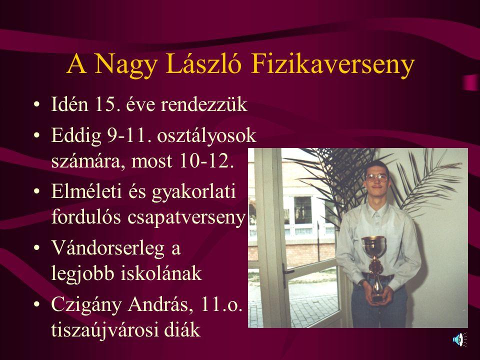 A Nagy László Fizikaverseny