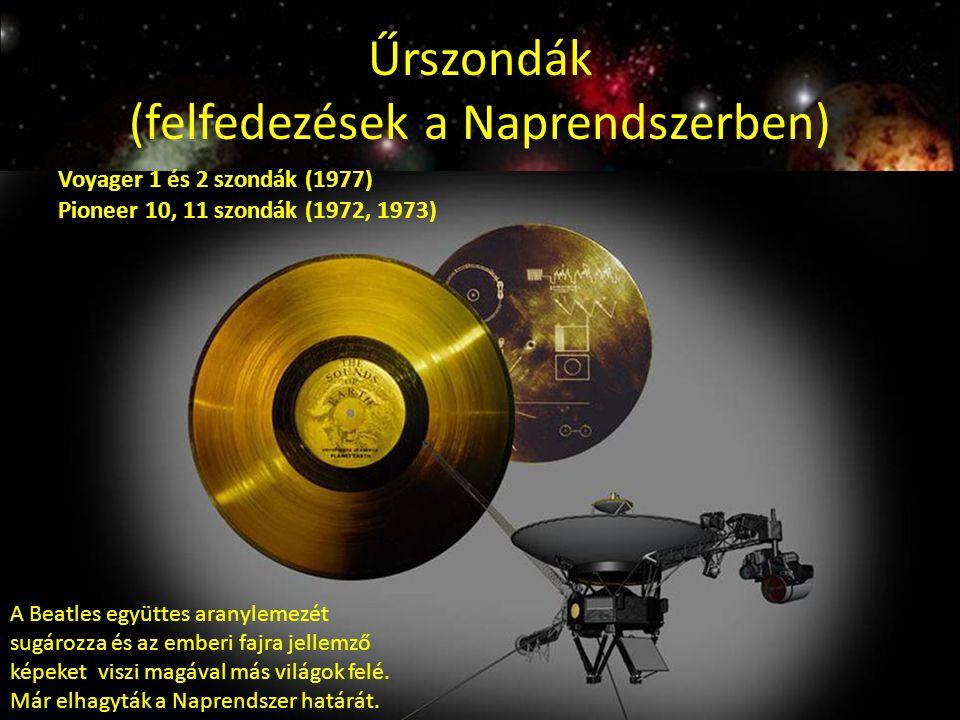 Űrszondák (felfedezések a Naprendszerben)