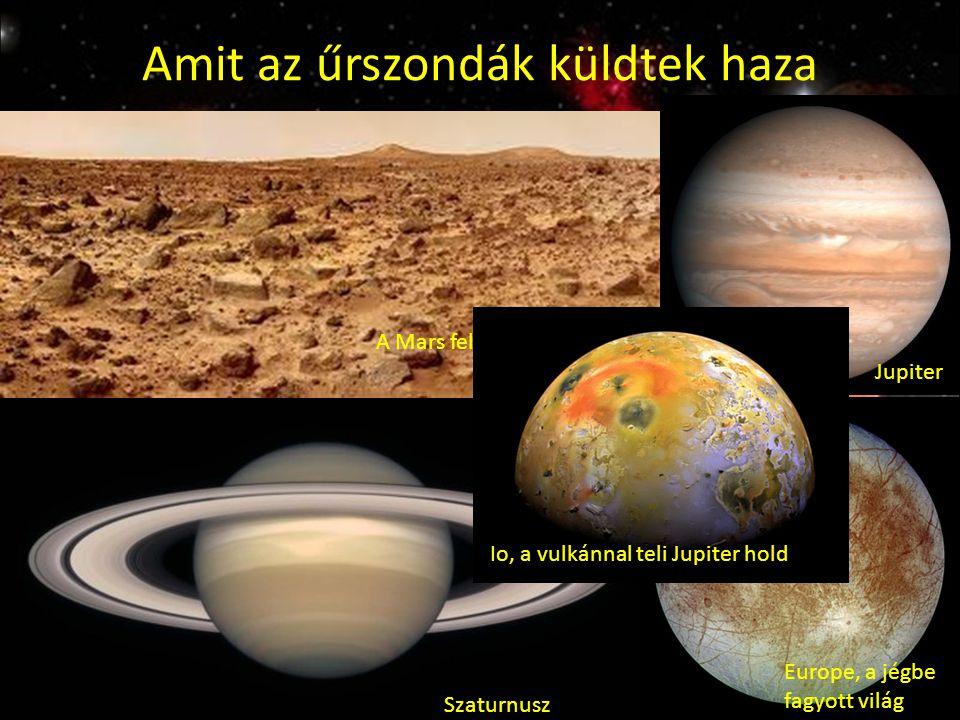 Amit az űrszondák küldtek haza