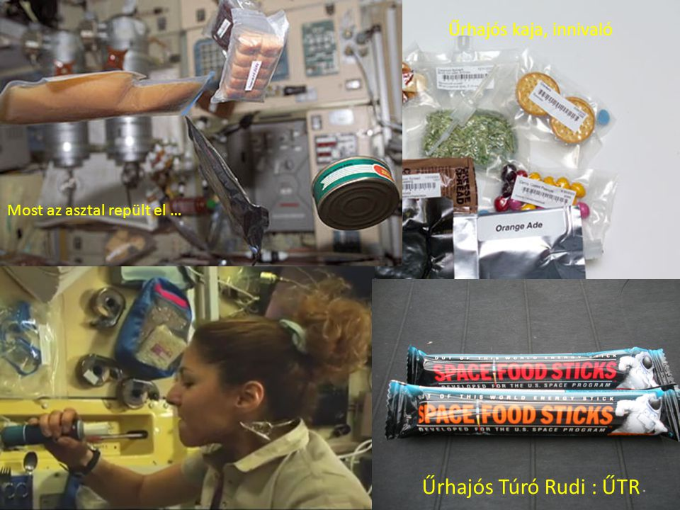 Űrhajós Túró Rudi : ŰTR Űrhajós kaja, innivaló