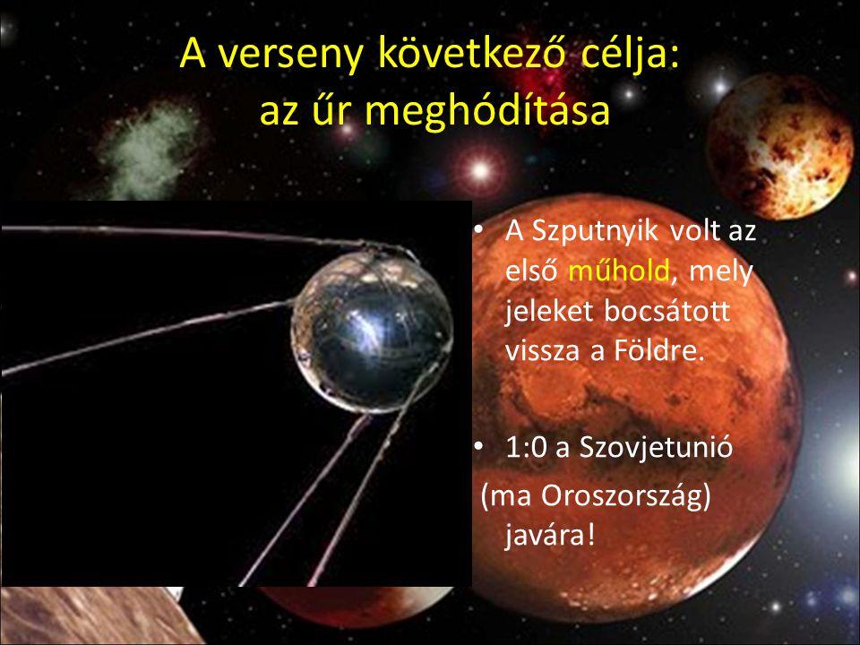 A verseny következő célja: az űr meghódítása
