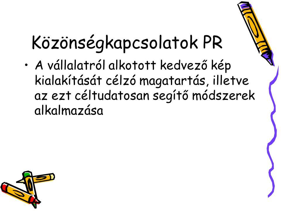 Közönségkapcsolatok PR