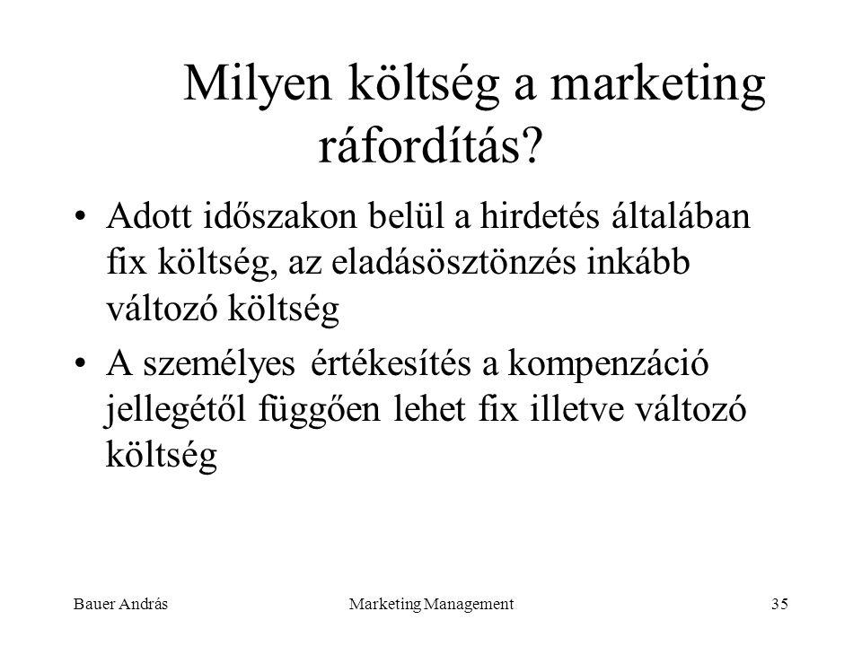 Milyen költség a marketing ráfordítás