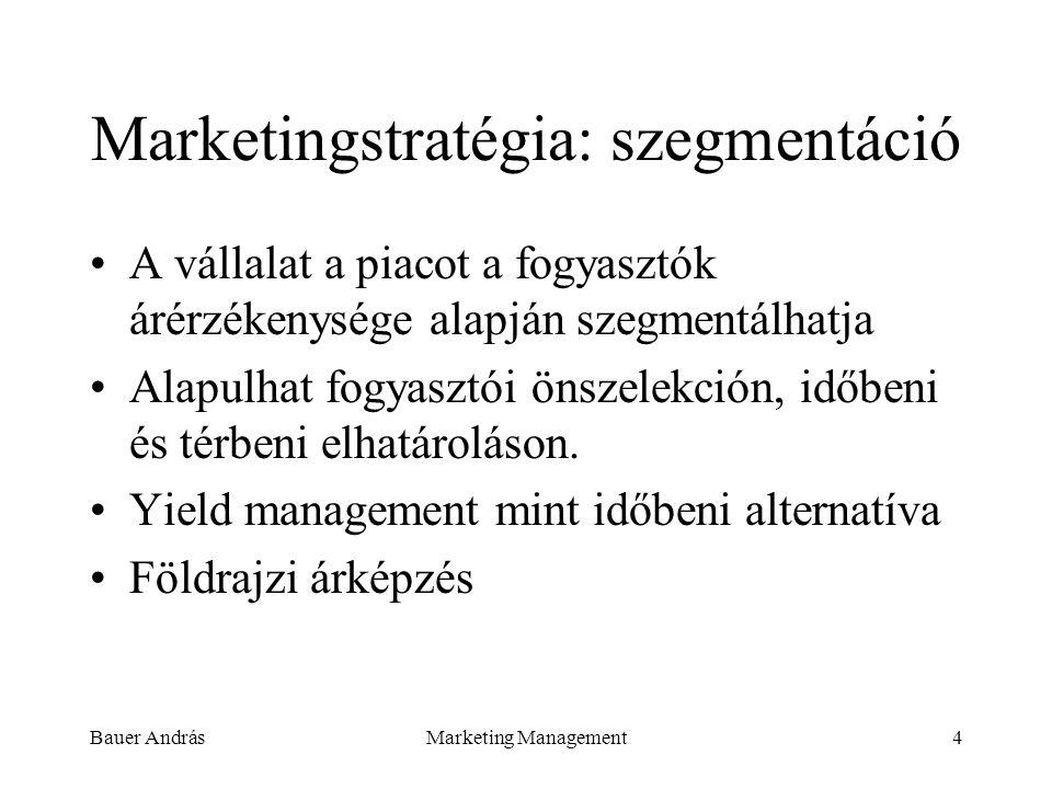 Marketingstratégia: szegmentáció