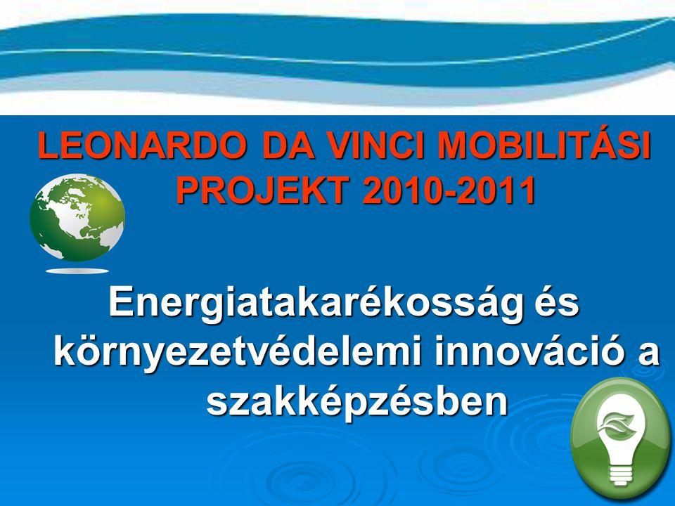 Energiatakarékosság és környezetvédelemi innováció a szakképzésben