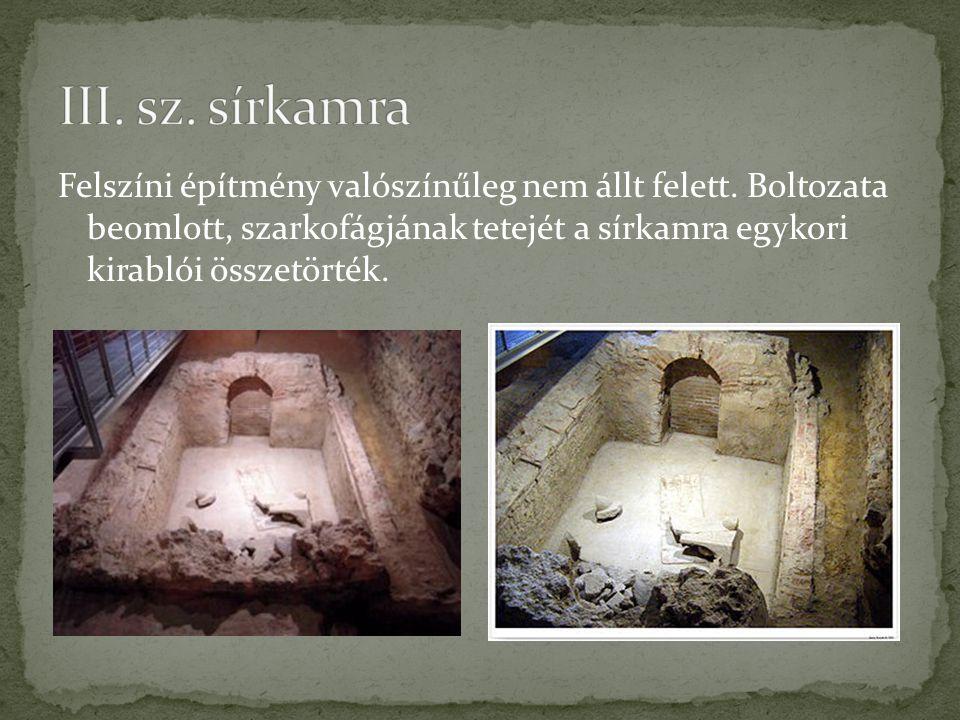III. sz. sírkamra