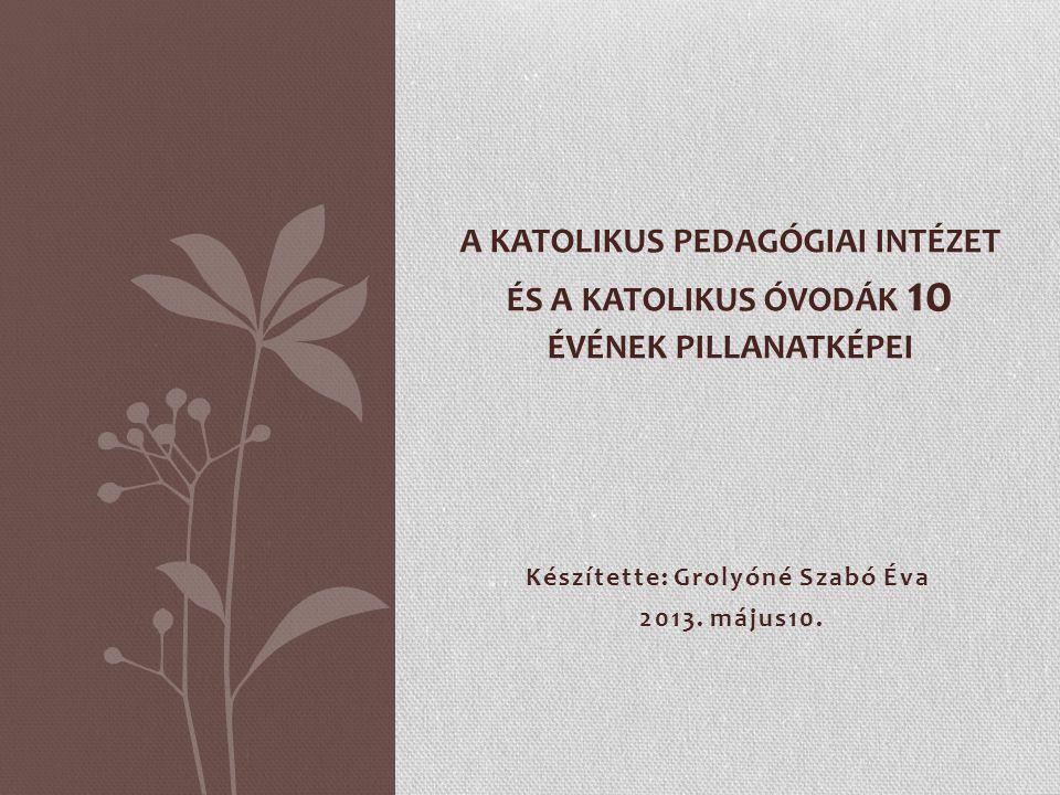 Készítette: Grolyóné Szabó Éva 2013. május10.