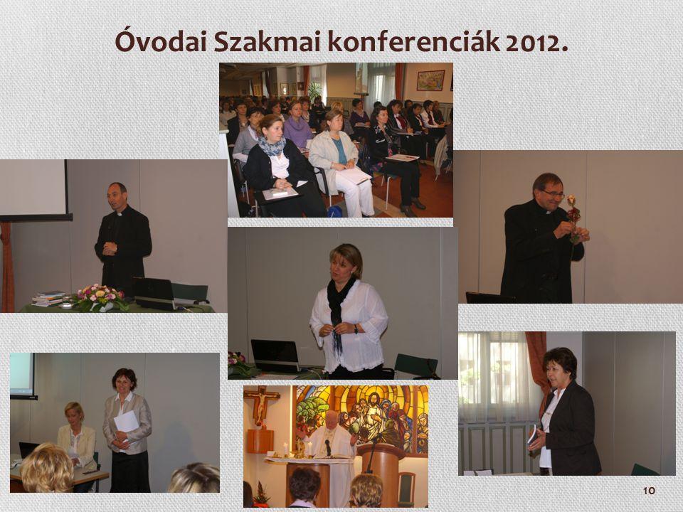 Óvodai Szakmai konferenciák 2012.