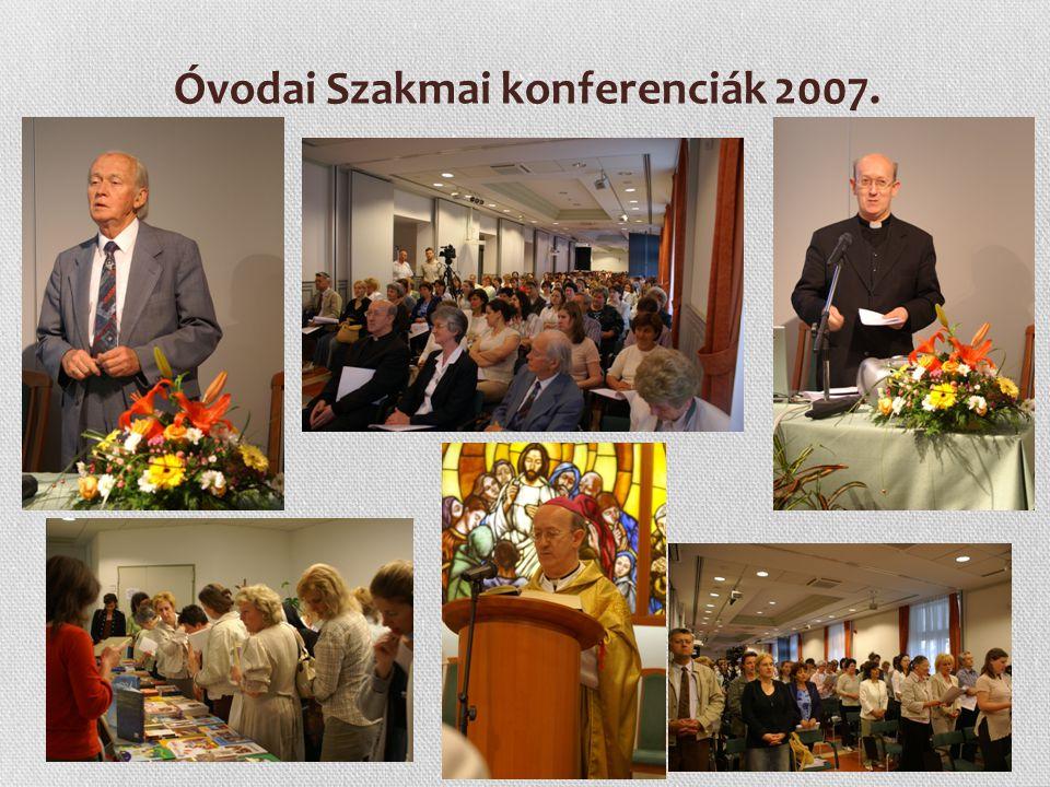 Óvodai Szakmai konferenciák 2007.