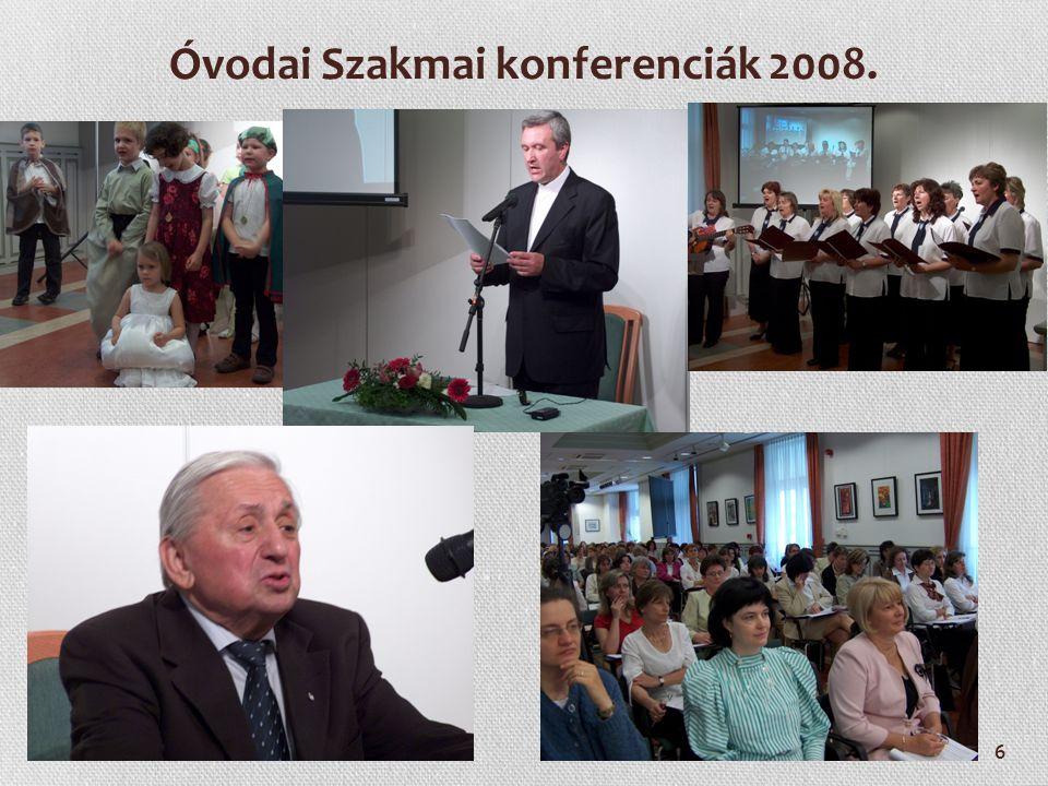 Óvodai Szakmai konferenciák 2008.