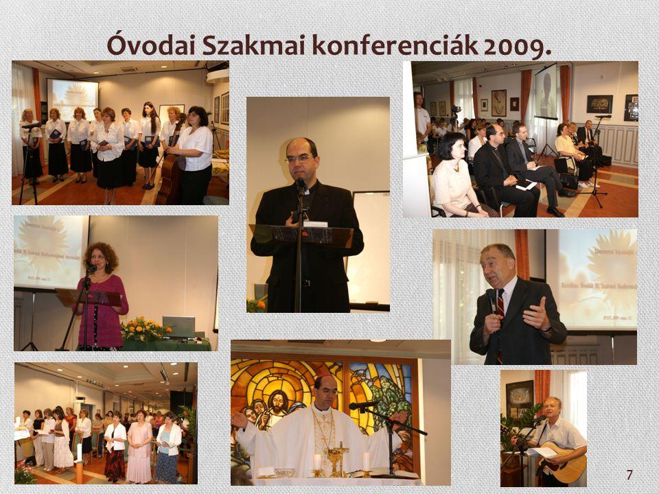 Óvodai Szakmai konferenciák 2009.