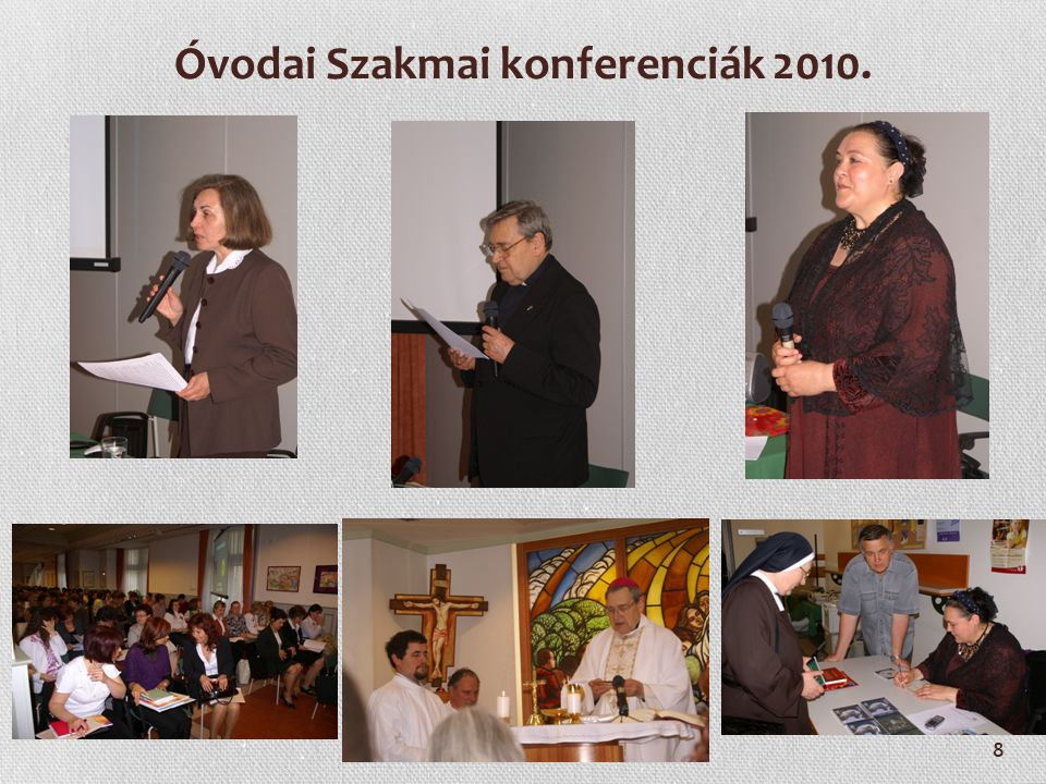 Óvodai Szakmai konferenciák 2010.