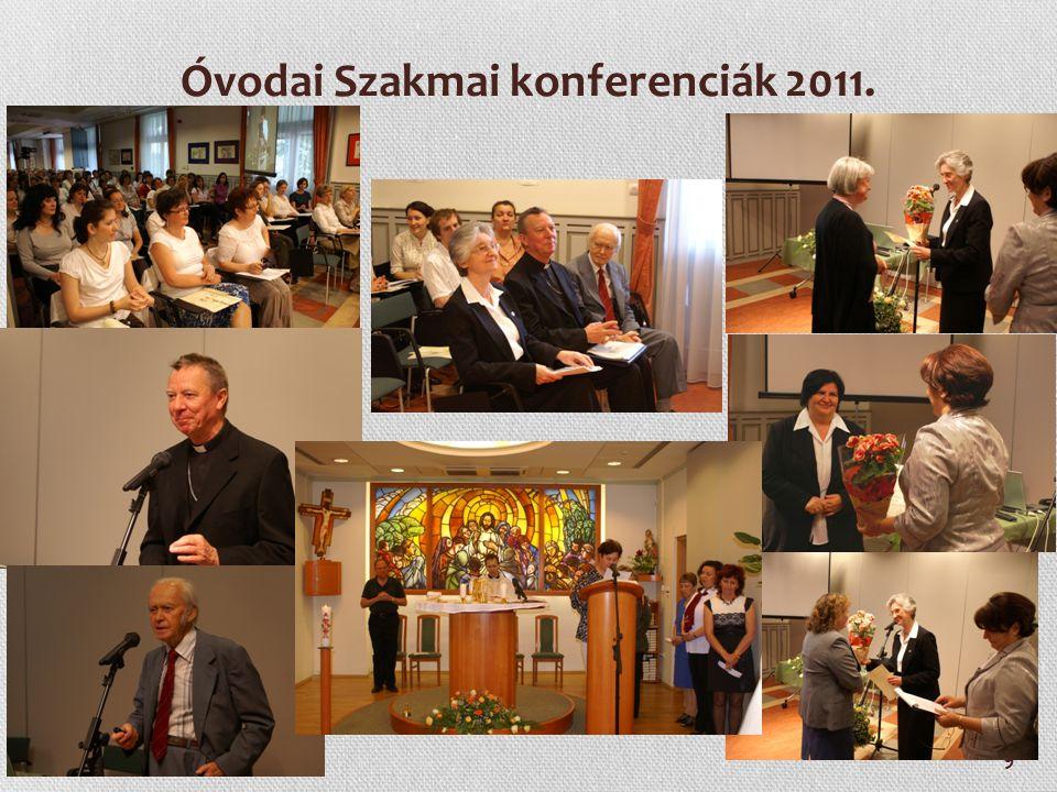 Óvodai Szakmai konferenciák 2011.