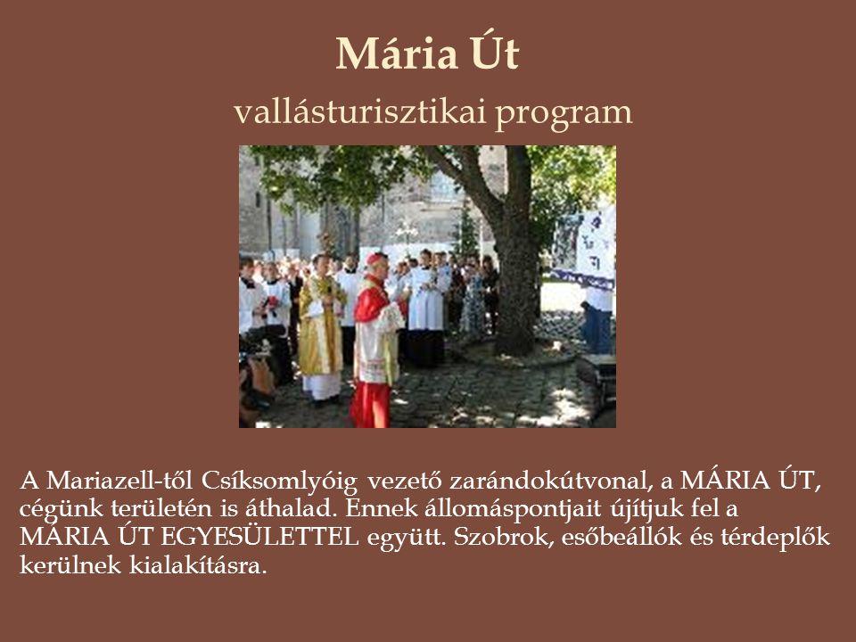 Mária Út vallásturisztikai program