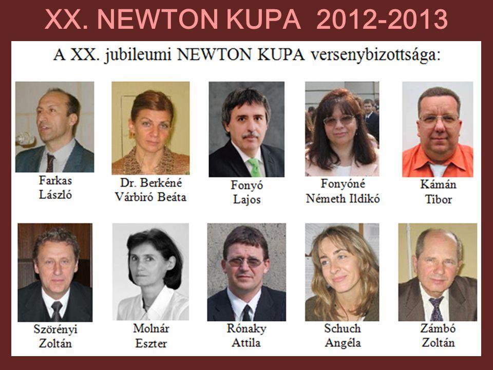 XX. NEWTON KUPA 2012-2013