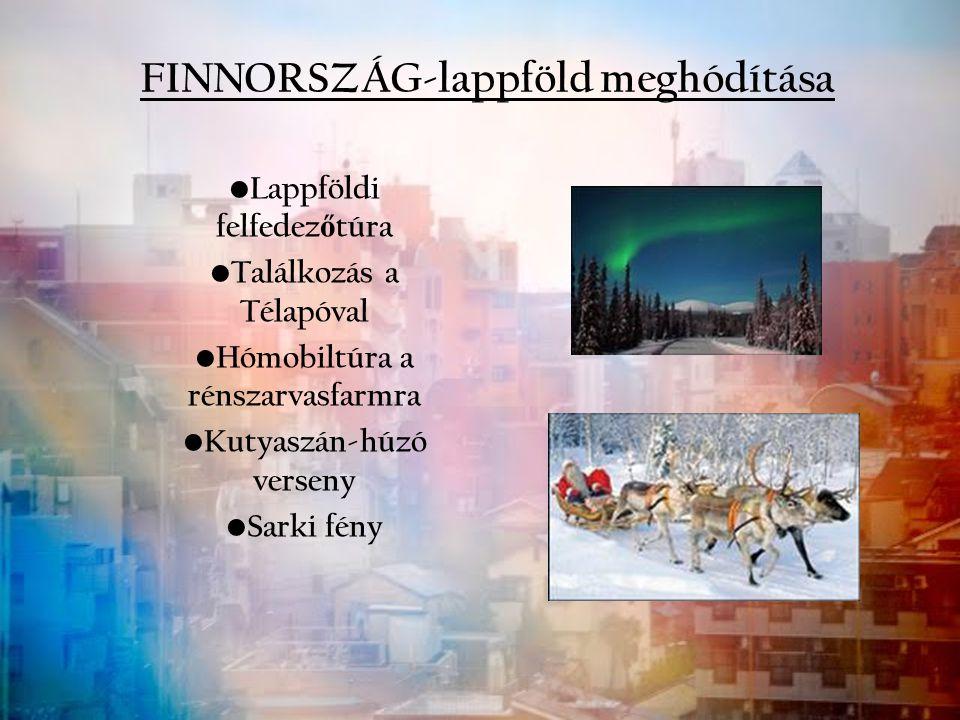 FINNORSZÁG-lappföld meghódítása