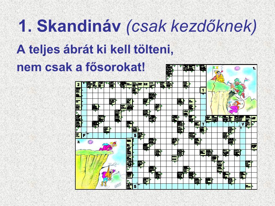 1. Skandináv (csak kezdőknek)