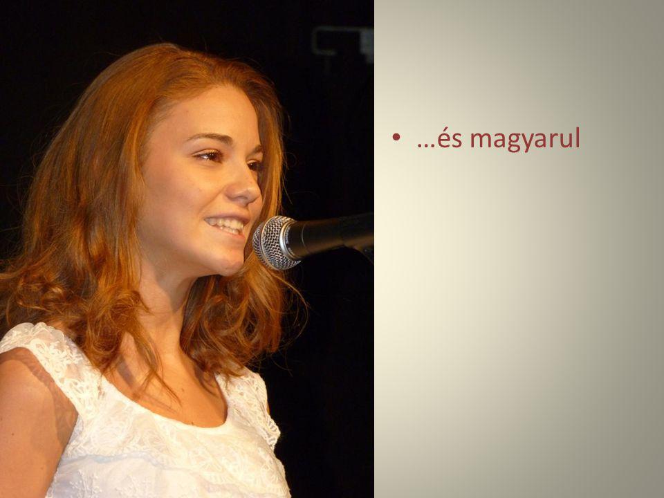 …és magyarul