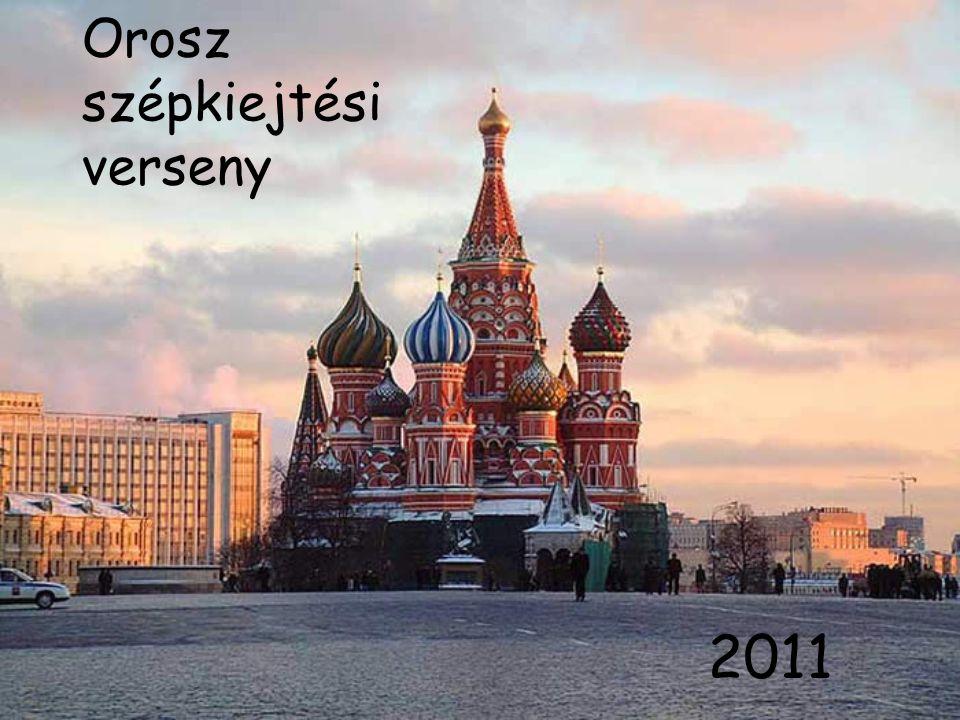 Orosz szépkiejtési verseny