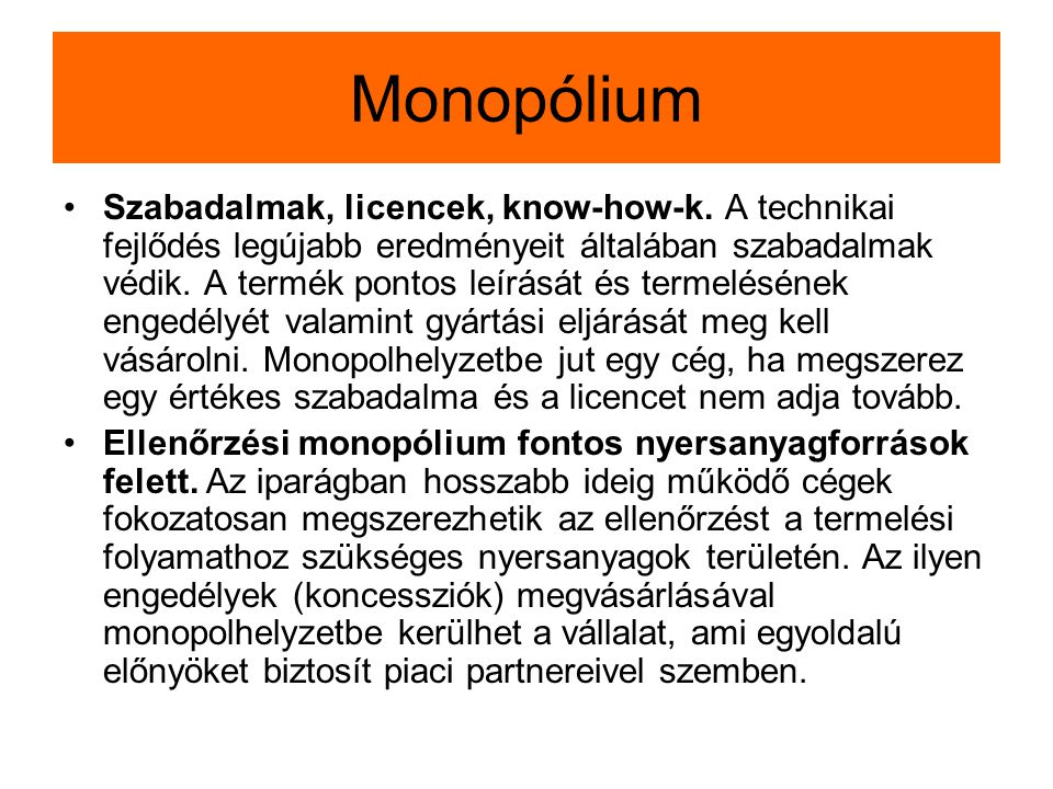 Monopólium