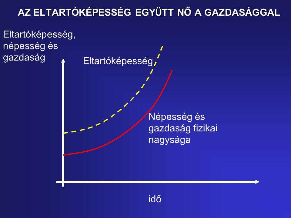 AZ ELTARTÓKÉPESSÉG EGYÜTT NŐ A GAZDASÁGGAL