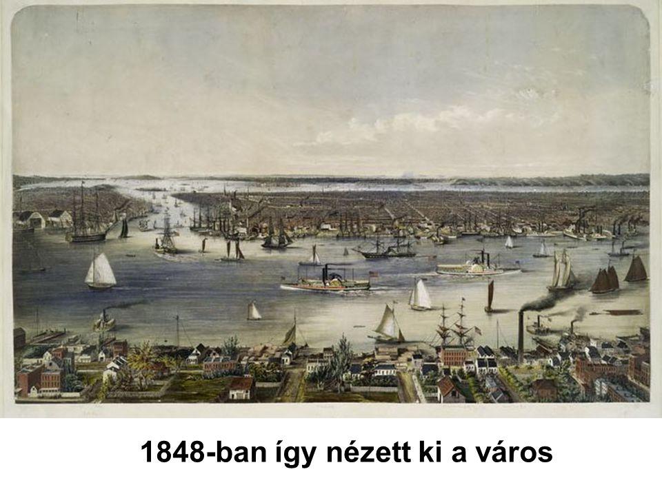 1848-ban így nézett ki a város