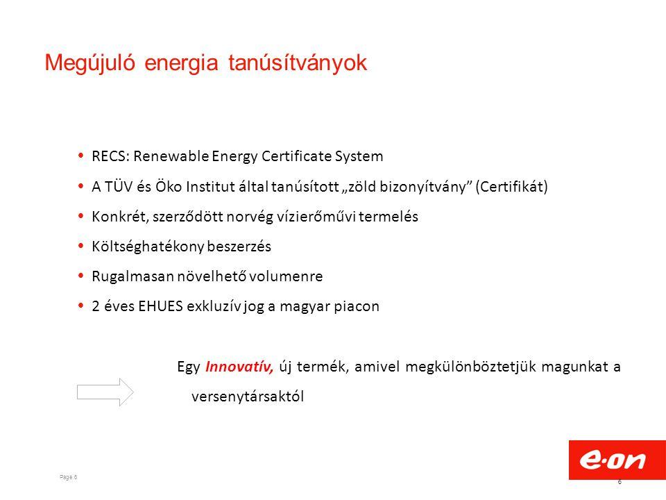 Megújuló energia tanúsítványok