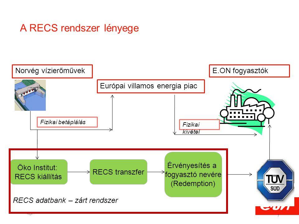 A RECS rendszer lényege