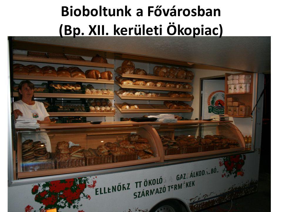 Bioboltunk a Fővárosban (Bp. XII. kerületi Ökopiac)