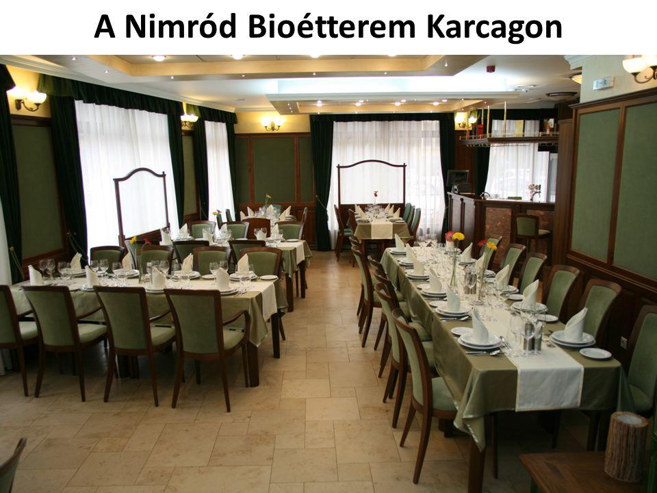 A Nimród Bioétterem Karcagon