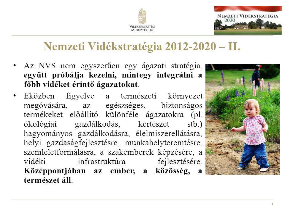 Nemzeti Vidékstratégia 2012-2020 – II.