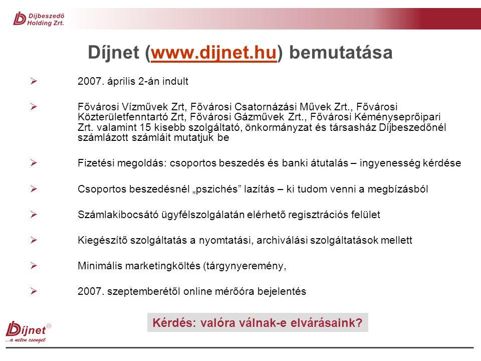 Díjnet (www.dijnet.hu) bemutatása