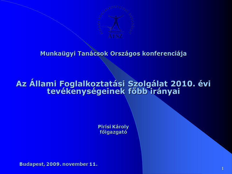 Munkaügyi Tanácsok Országos konferenciája