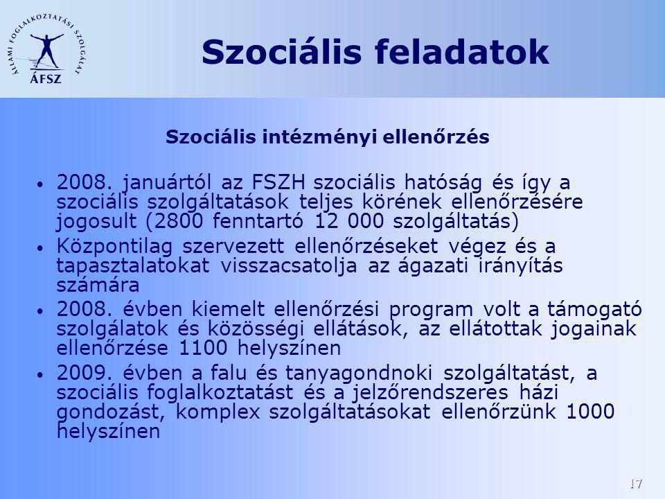 Szociális intézményi ellenőrzés